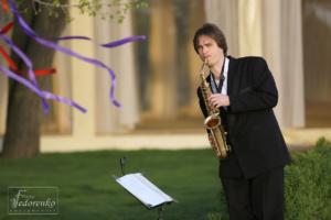 Саксофонист на корпоратив, свадьбу, конференцию в киеве