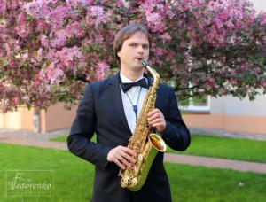 саксофонист киев, саксофонист на свадьбу киев, заказать выступление саксофониста киев