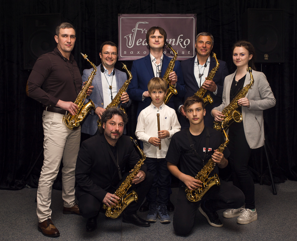 школа саксофона киев